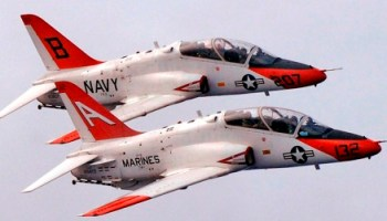 Breaking: T-45 Goshawk Crashes Near NAS Kingsville, TX