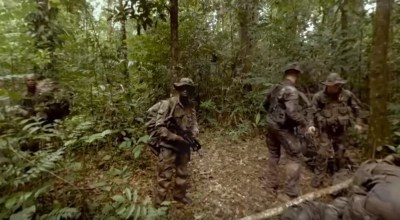 Watch: Deep in the jungle with the French Foreign Legion, a 360° video