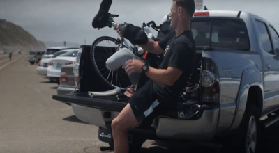 Watch: Marine loses leg in Afghanistan, becomes inspirational triathlete