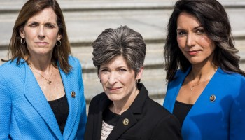 Congress's four female combat veterans are speaking up on military issues