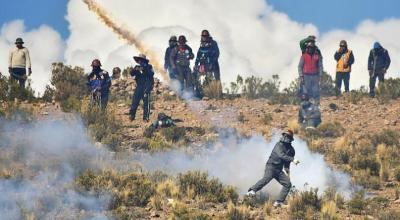 Bolivian deputy minister kidnapped and beaten to death by protesting miners