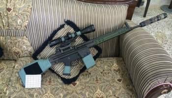 Watch: American Peshmerga's designated marksmanship rifle