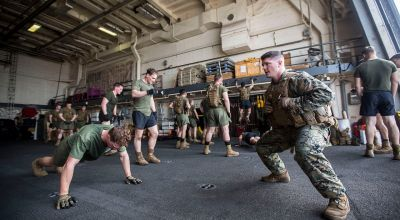 Top Marine tactical athletes share tips for crushing the HITT championship