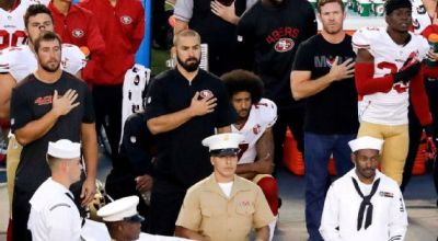 Kaepernick consults Nate Boyer, former Green Beret, on slightly more respectful way to protest