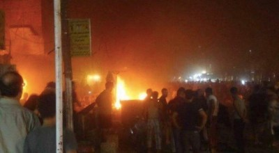 Deadly Baghdad explosion reported in same area struck by a car bomb in July