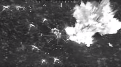 Watch: Apache attack helicopters engage a platoon of Taliban