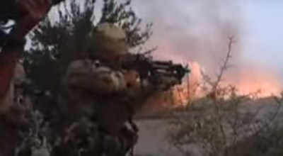 Watch: Canadian firefight with the Taliban