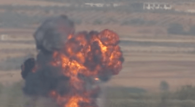 Watch: TOW missile vs. low flying Russian Gazelle helicopter, in Syria