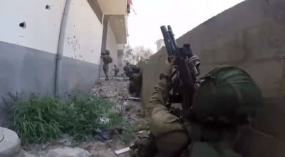 Watch: Israeli Special Forces raid Hamas camp with helmet cam