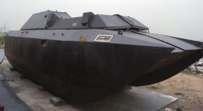 Armored stealth boats used by Chinese smugglers