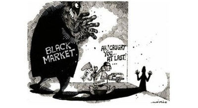 The Black Market aiding and abetting fundamentalists