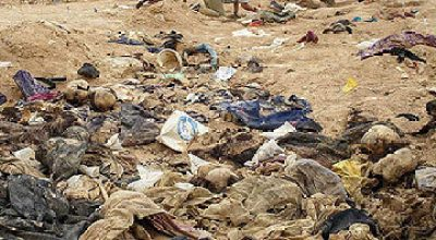 JSOC discovered mass grave for 'ISIS' Daesh Terrorists in Fallujah