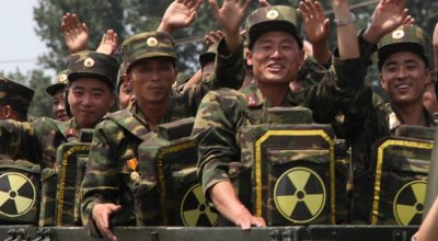 North Korea reportedly arms fighters with 'nuclear backpacks' spraying uranium