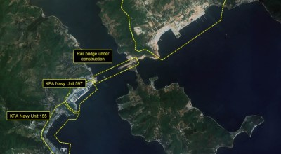 Significant defensive and offensive upgrades are underway along the North Korean coast