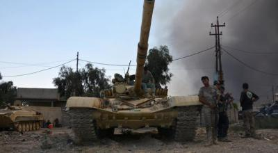France deploys artillery, readies carrier ahead of Mosul offensive