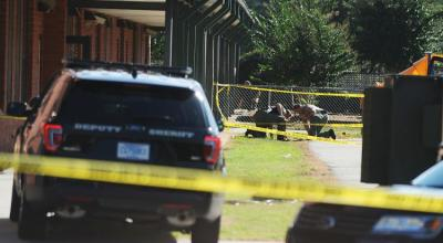 South Carolina elementary school shooter killed his father before injuring three at the school