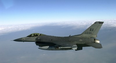 The U.S. Air Force is turning old F-16 fighters into drones