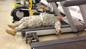 And the fattest U.S. military service is ...
