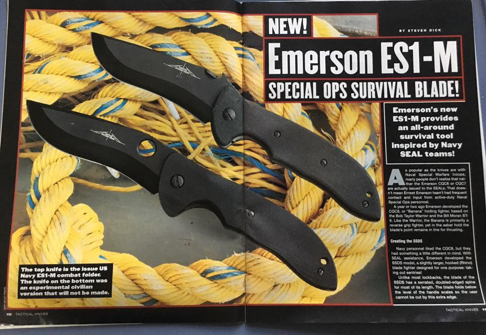 Emerson Commander | Survival Folding Knife