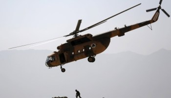 Afghanistan: Army helicopter crashes in Baghlan