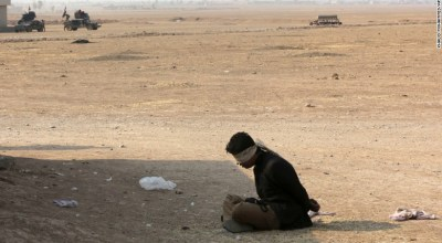 ISIS 'Executes' 232 Near Mosul and Takes 'Thousands as Human Shields'