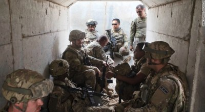 On the front lines: Mosul in sight