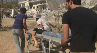 Syria airstrikes kill as many as 22, mostly children, outside school