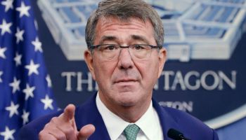 Secretary of Defense Ash Carter halts the reclaiming of California National Guard bonuses