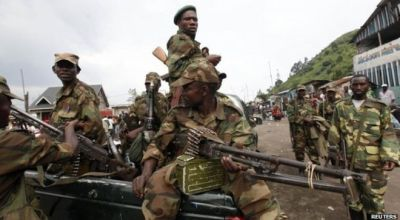 Rebels and Army shoot it out in DR Congo