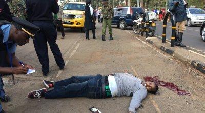 Suspected member of al Shabaab killed in front of US Embassy in Kenya