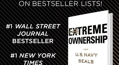 'Extreme Ownership' celebrating a year as a bestselling book on business and life