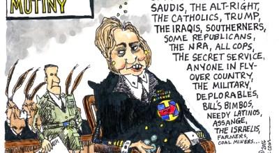 The Clinton mutiny