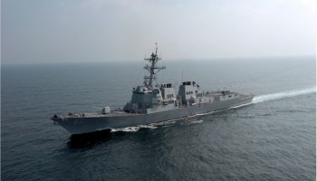Missiles fired at the USS Mason from Houthi rebel-held land in Yemen