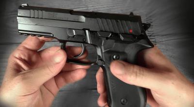 Arex's rexZero1 Handgun: Select Single or Double Action
