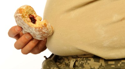 Top military doctor says trend toward overweight troops is troubling