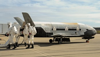 X-37B secret spy plane: 500 days in orbit