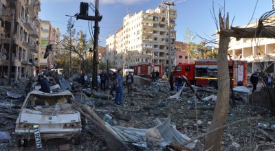 Bombing in southeastern Turkey kills nine and wounds 100