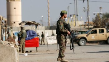Suicide bombing at Bagram Airfield in Afghanistan kills four and injures 17