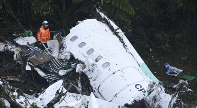 Plane Carrying Brazilian Soccer Team Crashes on Way to Colombia