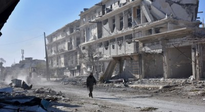 Residents of rebel Aleppo face starvation as government forces close in