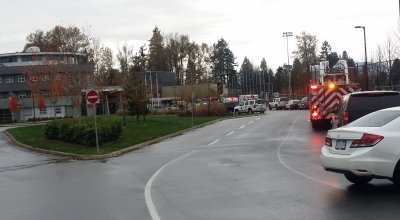 Two Canadian schools on lockdown after two people stabbed