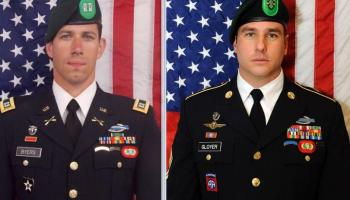 Department of Defense identifies two Special Forces Soldiers killed in Afghanistan