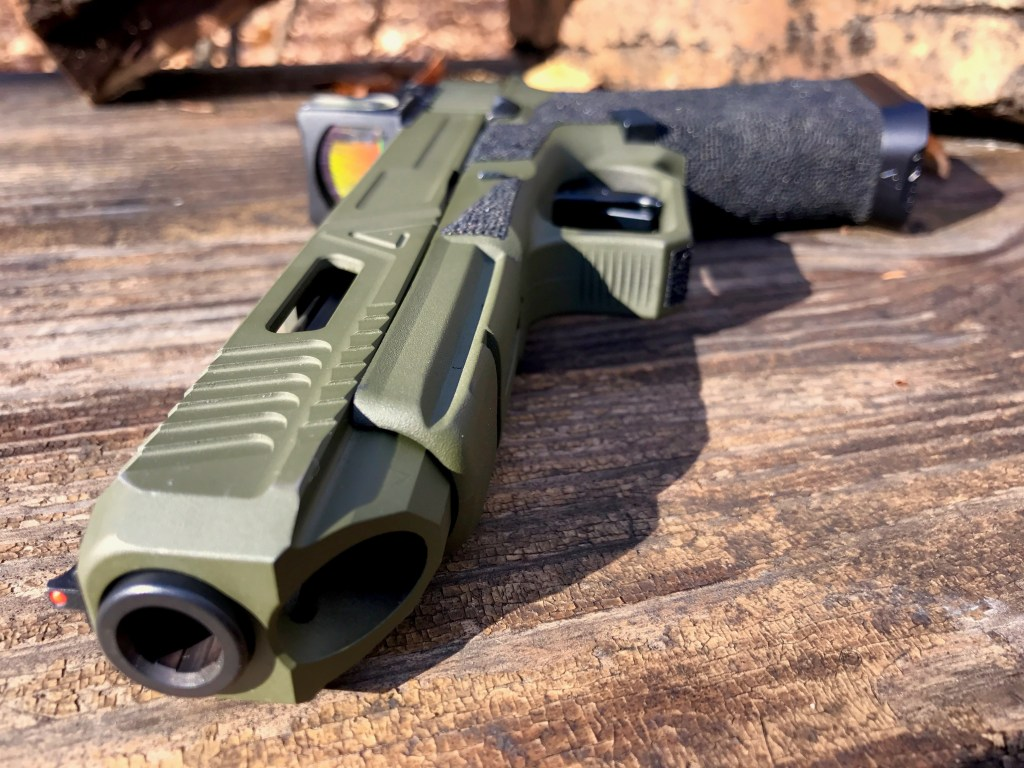 An Army Rangers Agency Arms Glock 34