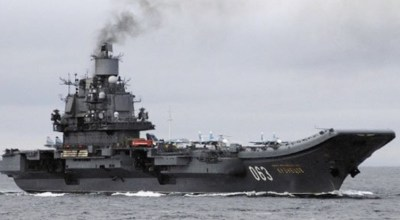 Why Russia sailed its navy thousands of miles to Syria when doing so brings 'nothing' to the battle