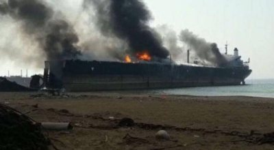 8 dead, dozens wounded in blasts at Pakistan ship breaking yard