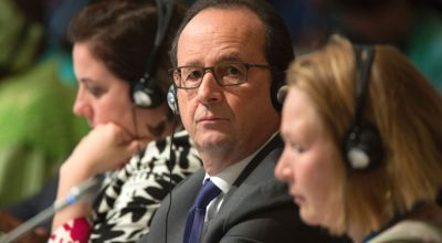 Donald Trump must respect 'Irreversible' Paris climate deal, French President Hollande says