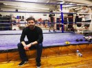Brandon at the Peacock gym in London