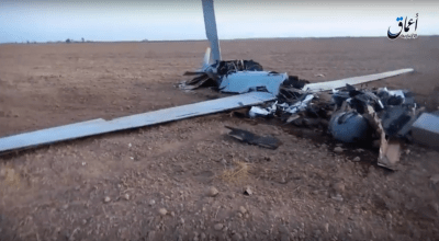 Watch: Islamic States claims responsibility for bringing down US drone near Tal Afar