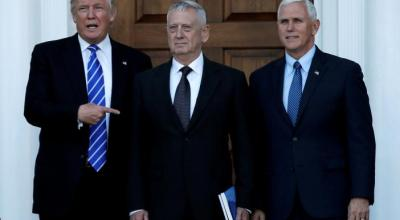 In weekend of deliberation, Mattis favored for Trump Pentagon chief