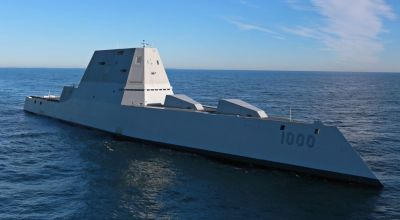 The US Navy's New Warship Gun Costs $800,000 to Fire